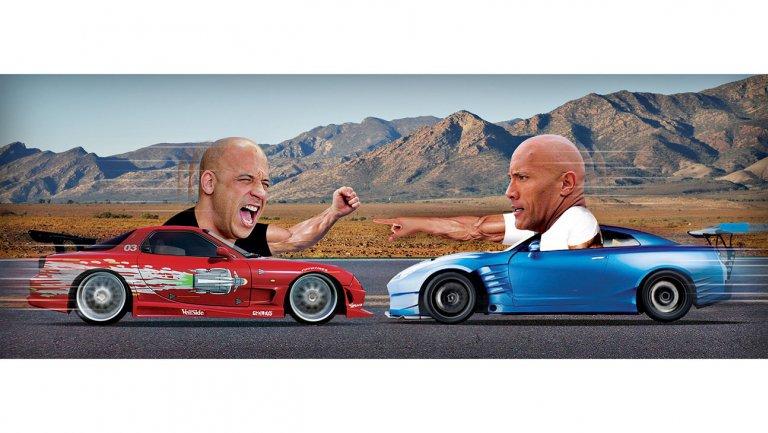 'Fate of the Furious' beef: Dwayne Johnson, Vin Diesel kept apart on p...