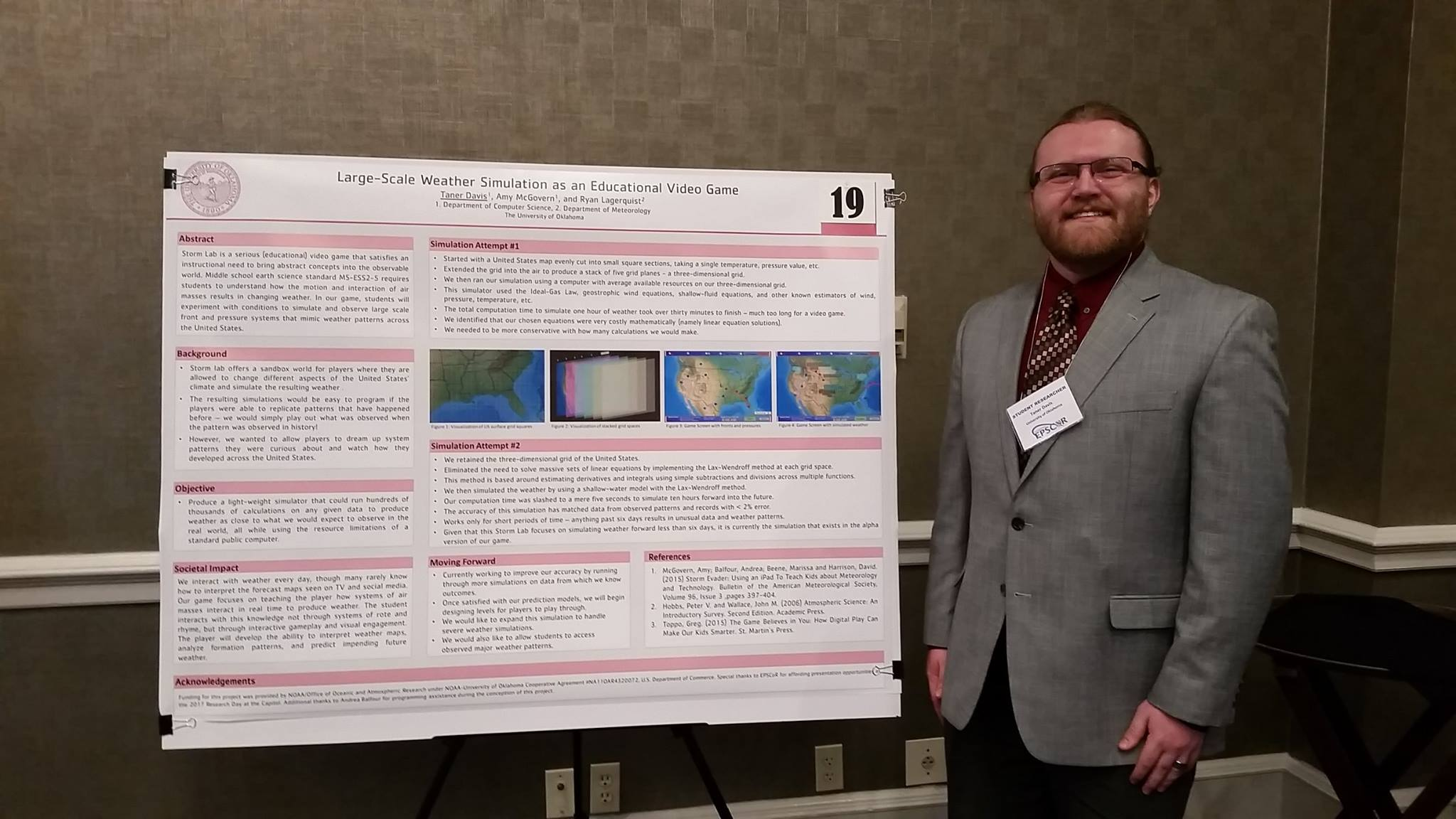 Engineering At OU On Twitter Congrats Taner Davis Way To - Video game designer working conditions
