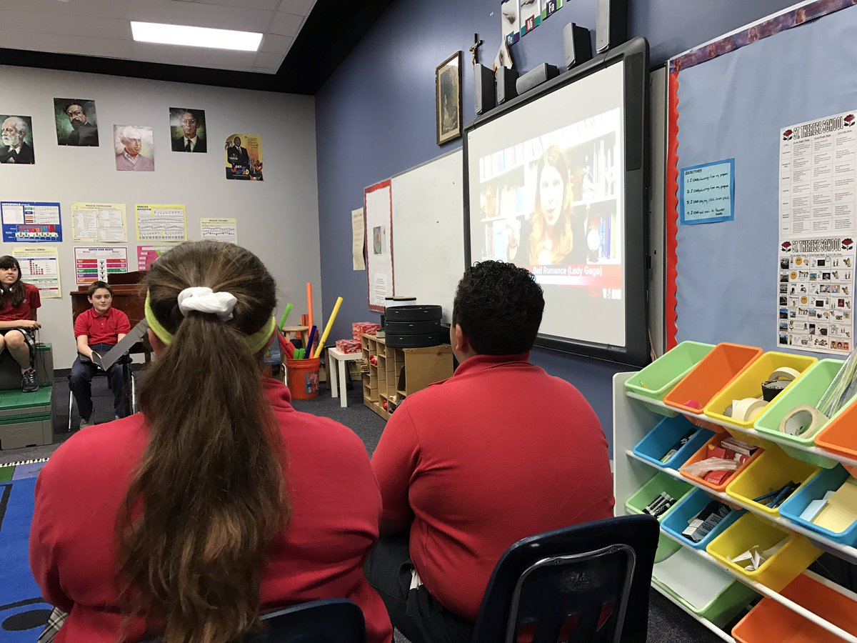 Yo @robingiebes 74/75 middle school kids dig your elements videos on @YouTube.  That 75th was just having a bad day. Thank you!  #musiced <br>http://pic.twitter.com/Thl4aHKCDm