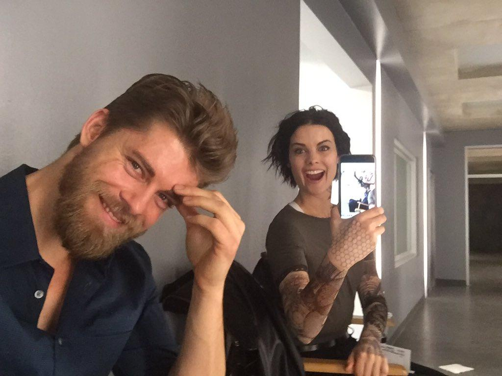 There's never a dull moment between these two! #Blindspot  📷 @LukeMitc...