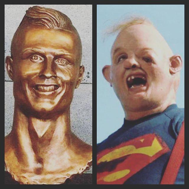 Il busto di Cristiano Ronaldo nell'aeroporto di Madeira fa schifo e il web si ... - https://t.co/b03Ke2MD6H #blogsicilianotizie #todaysport