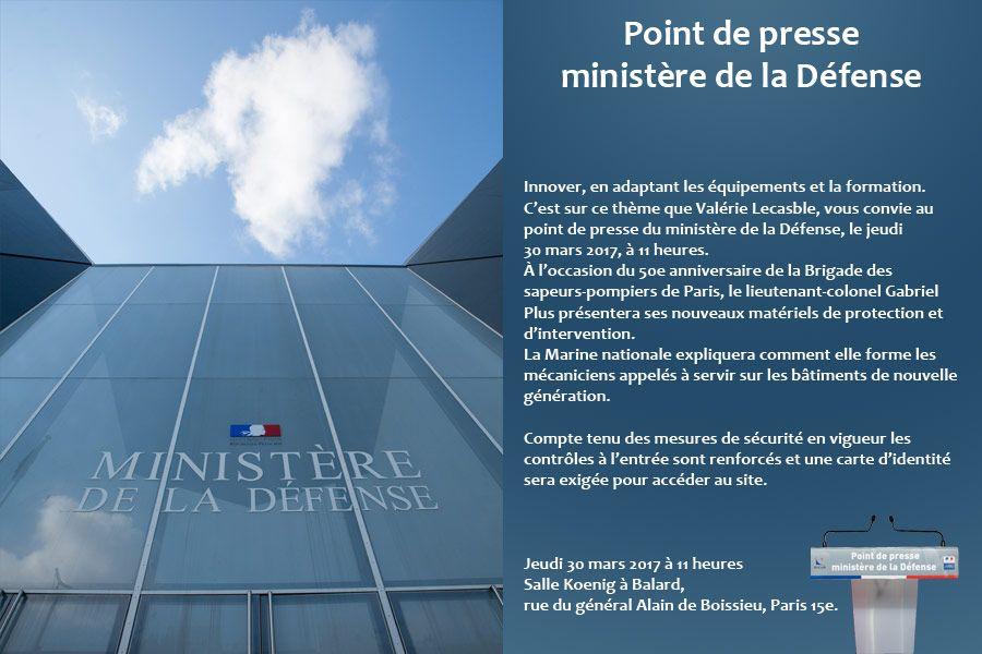 Demain à 11h, suivez-nous #endirect lors du #PointdePresse du Ministère de la #Défense<br>http://pic.twitter.com/n1M1bx9TIg