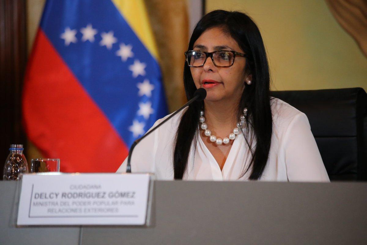 Canciller @DrodriguezVen: ¡Venezuela no va a ser un error imperial, no...