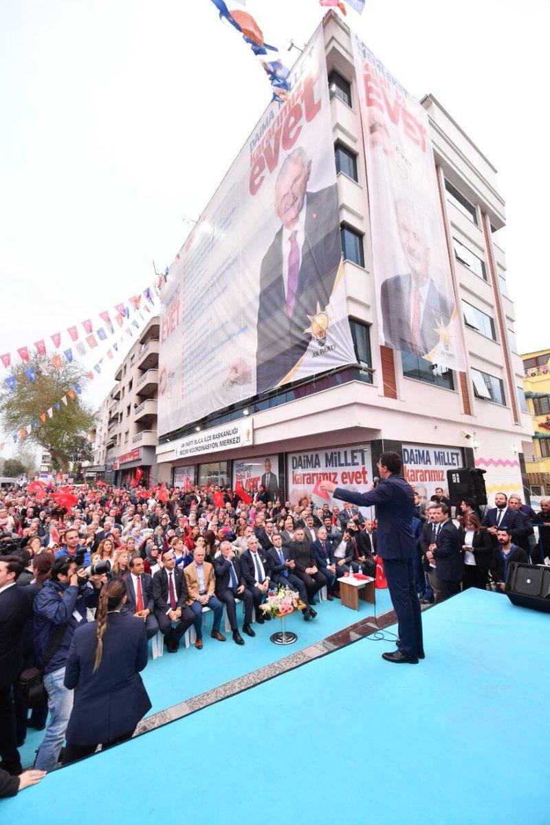 16 Nisan'da mesele AK Parti,CHP, MHP meselesi değil. Mesele memleket m...