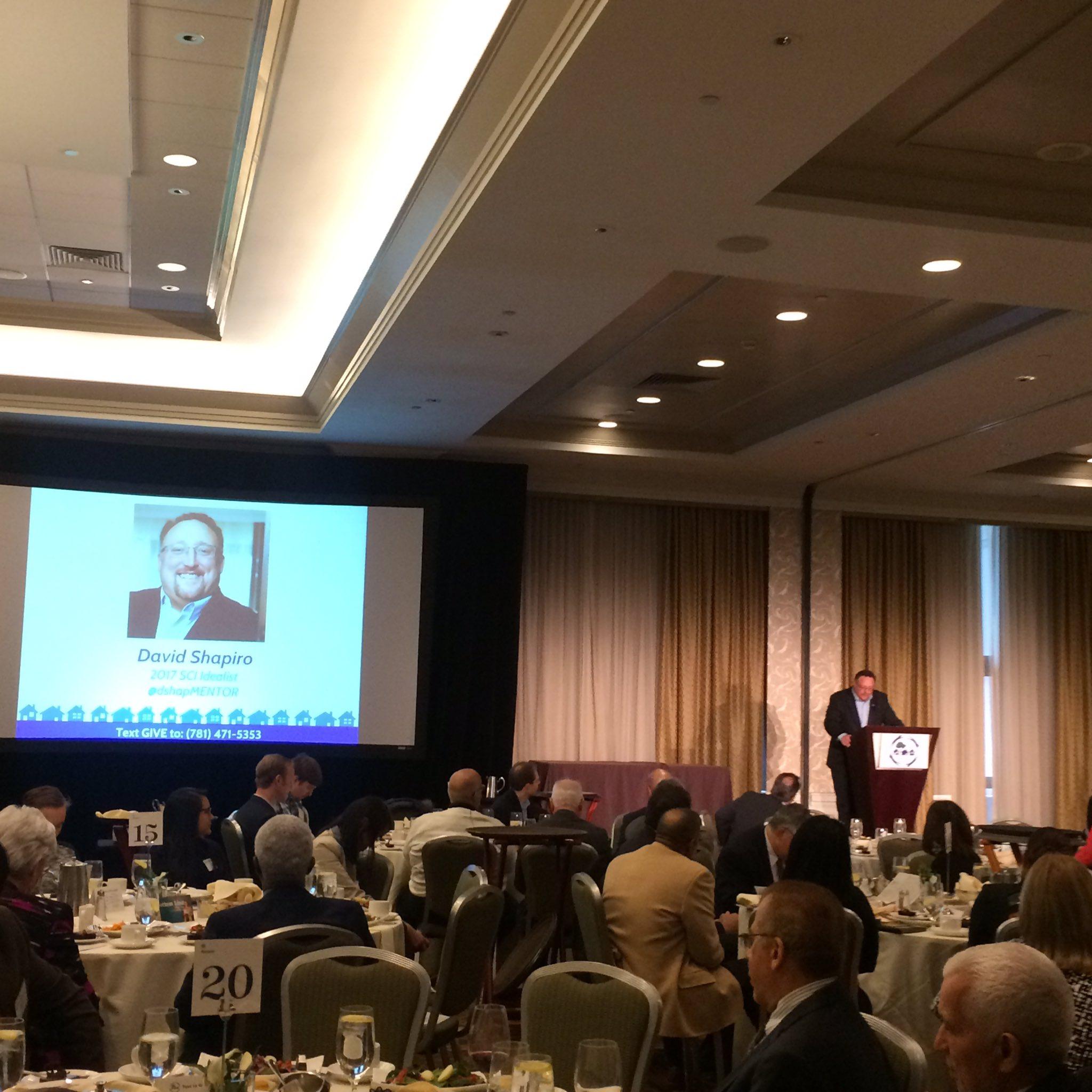 SCI is proud to honor David Shapiro, CEO of MENTOR, with the 2017 SCI Idealist award @dshapMENTOR @MENTORnational #SCImpact https://t.co/B2ZCWwjo4f