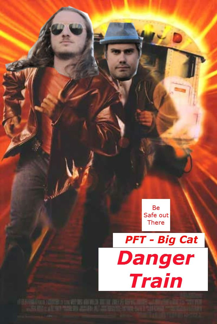 Coming soon to a theater near you... #dangertrain @BarstoolBigCat @PFT...