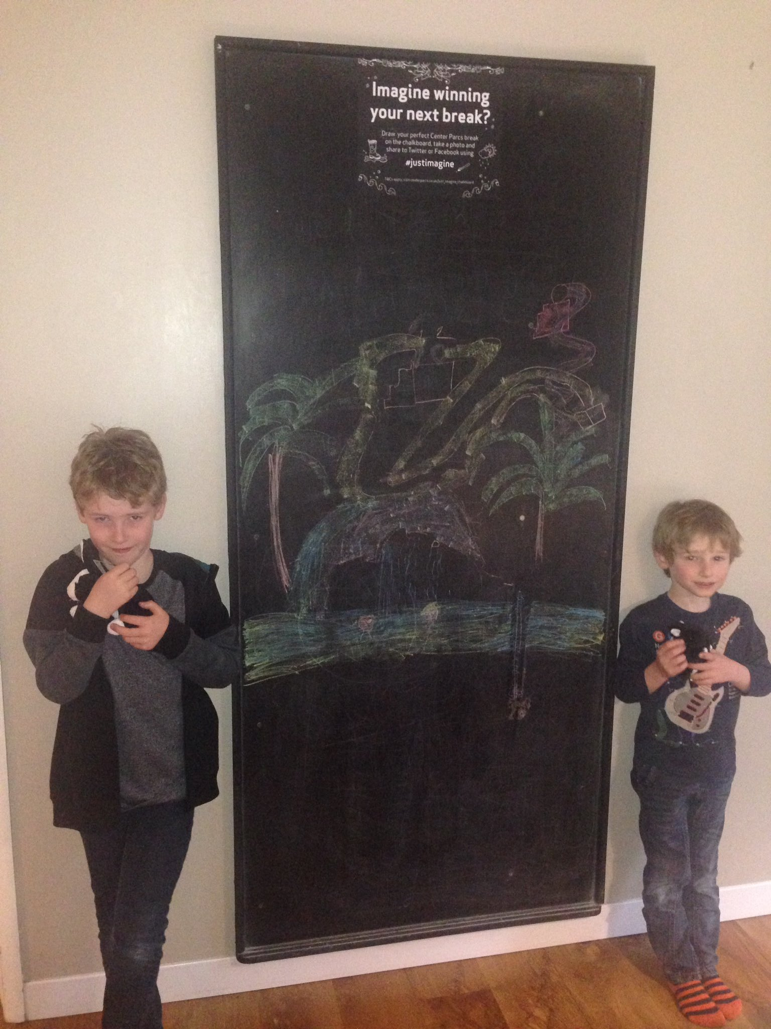 @CenterParcsUK another amazing stay! Daniel (8)&Jake (5) imagine how fab it would be to be back soon #justimagine https://t.co/FkhXXgy8QO