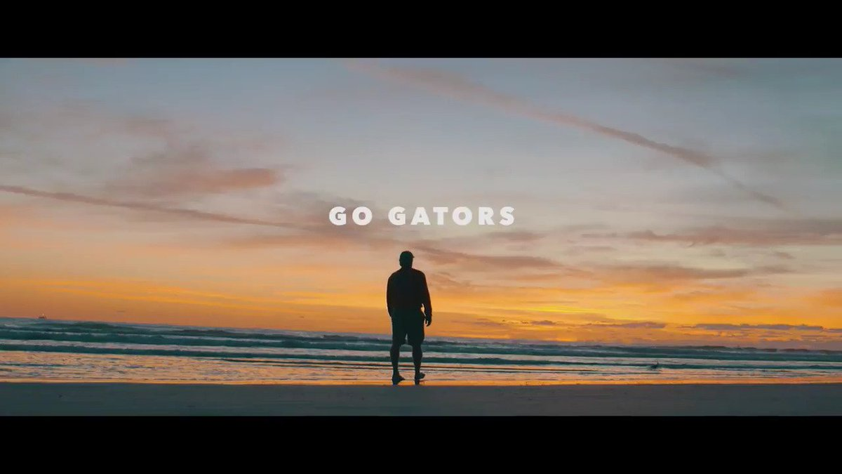 RT @FloridaGators: You'll want to turn the audio on for this. #GoGators https://t.co/oX9hjgknSg