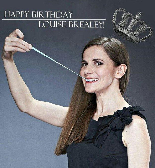 Happy Birthday Louise Brealey !!!
