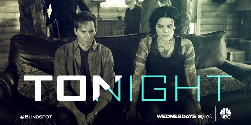 TONIGHT!   An all new #Blindspot! Who has kidnapped @jaimiealexander a...