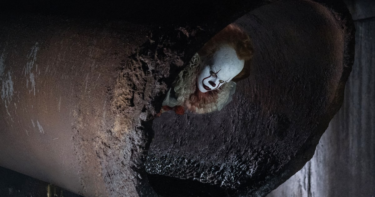 See terrifying first footage of killer clown Pennywise in the #ITMovie...