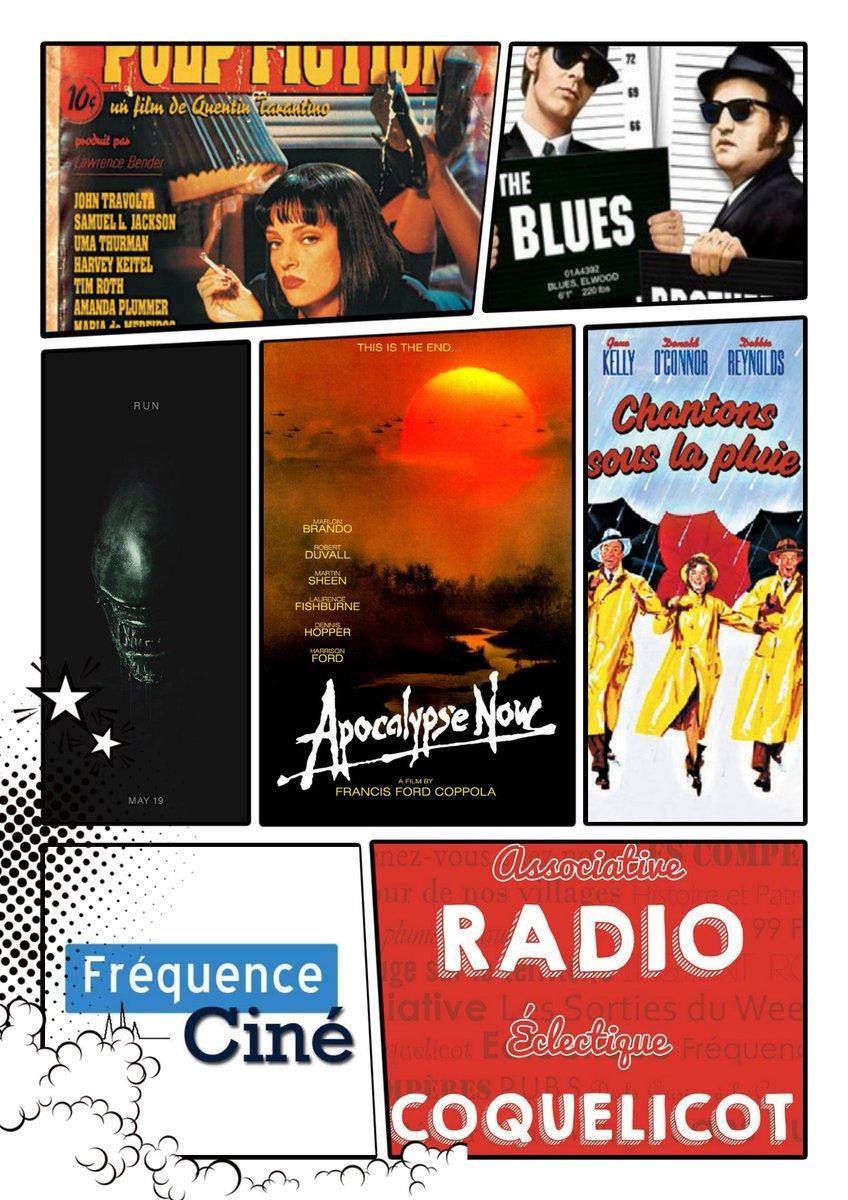 FREQUENCE CINE la seule émission de #radio qui se fait des films se podcaste sur notre site  =&gt;  http://www. radiocoquelicot.com/emission/327/H ebdomadaire.html &nbsp; … <br>http://pic.twitter.com/iOQlwMYphU