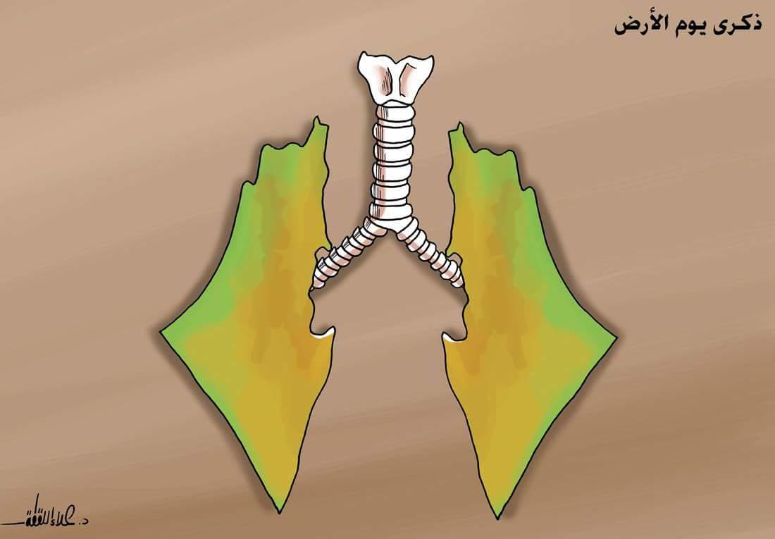 ذكرى #يوم_الأرض  بريشة د.علاء اللقطة https://t.co/vsFH3PNVKN