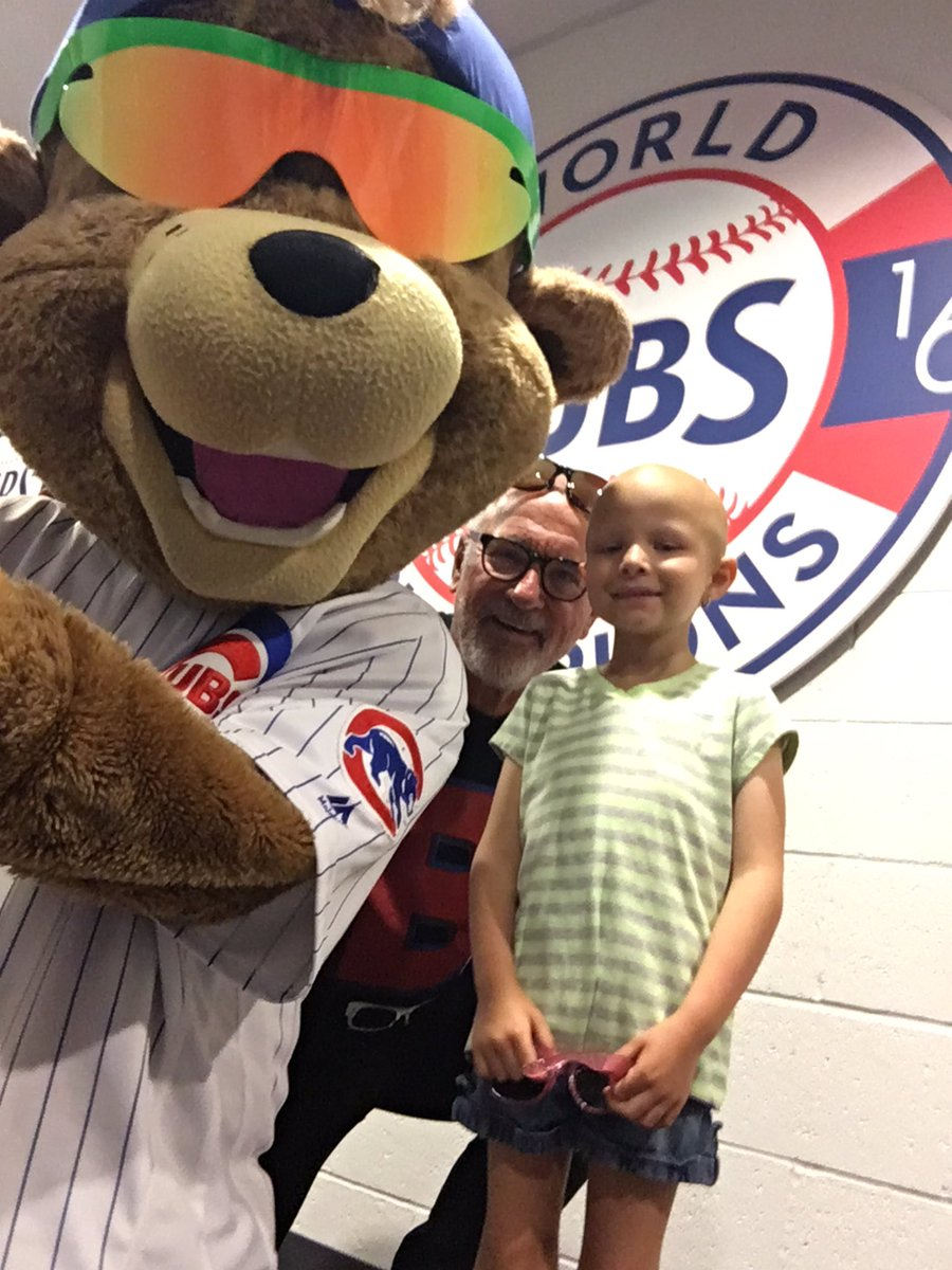 Last game at #Cubs Sloan Park this year! Saying goodbye to Audrey and...