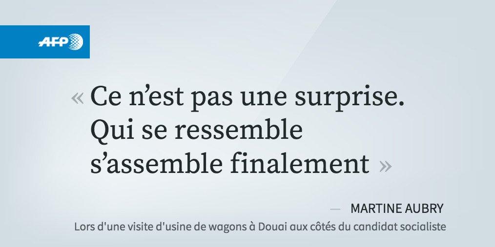Aubry: Valls-Macron, &quot;qui se ressemble, s&#39;assemble&quot;  http:// u.afp.com/4Moh  &nbsp;   #AFP <br>http://pic.twitter.com/hrN5XHmNPY
