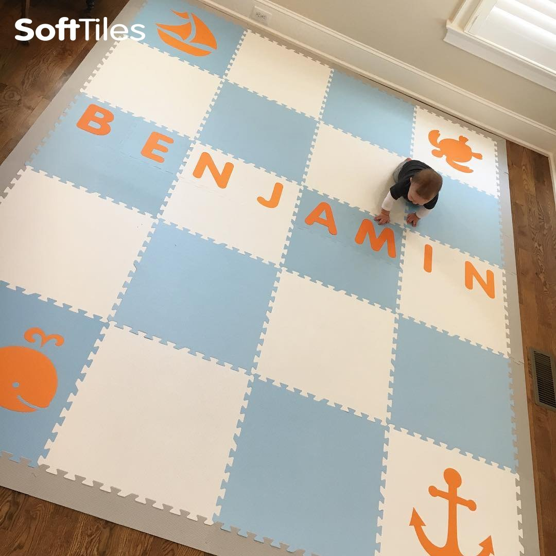 SoftTiles Foam Mats. Https://www.softtiles.com/blogs/ideas/personalize Your  Playroom Floor With Your Child S Name By Using Softtiles Alphabet Letters D181  U2026 ...