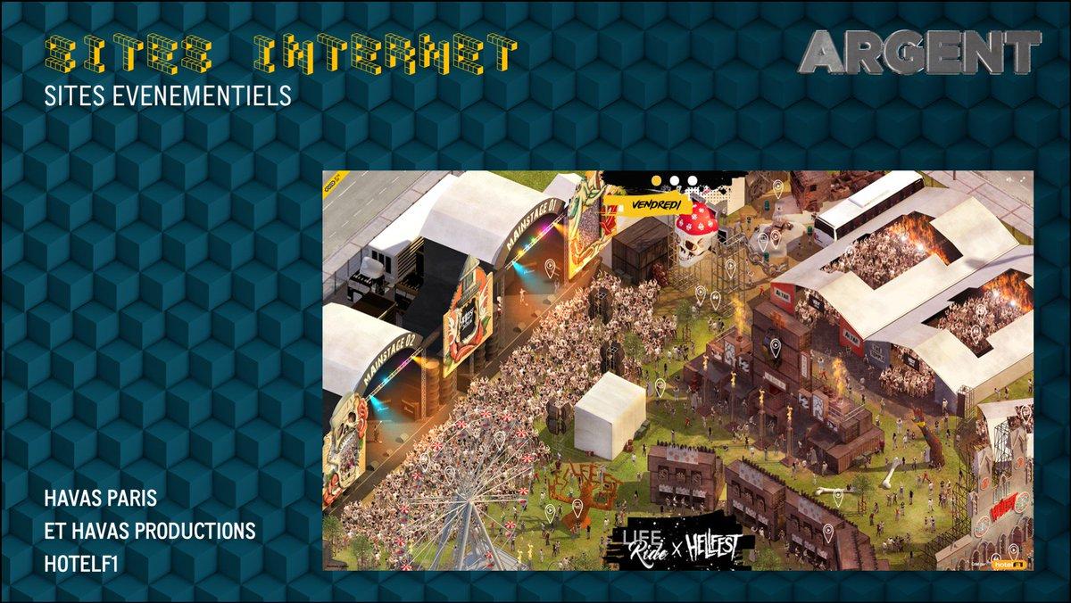 l'#ARGENT pour #Life ride the hell de @HavasParis, @HavasProd et @F1Hotelf1, site événementiel pendant le @hellfestopenair  #gpstrat<br>http://pic.twitter.com/6pILbrp0bH