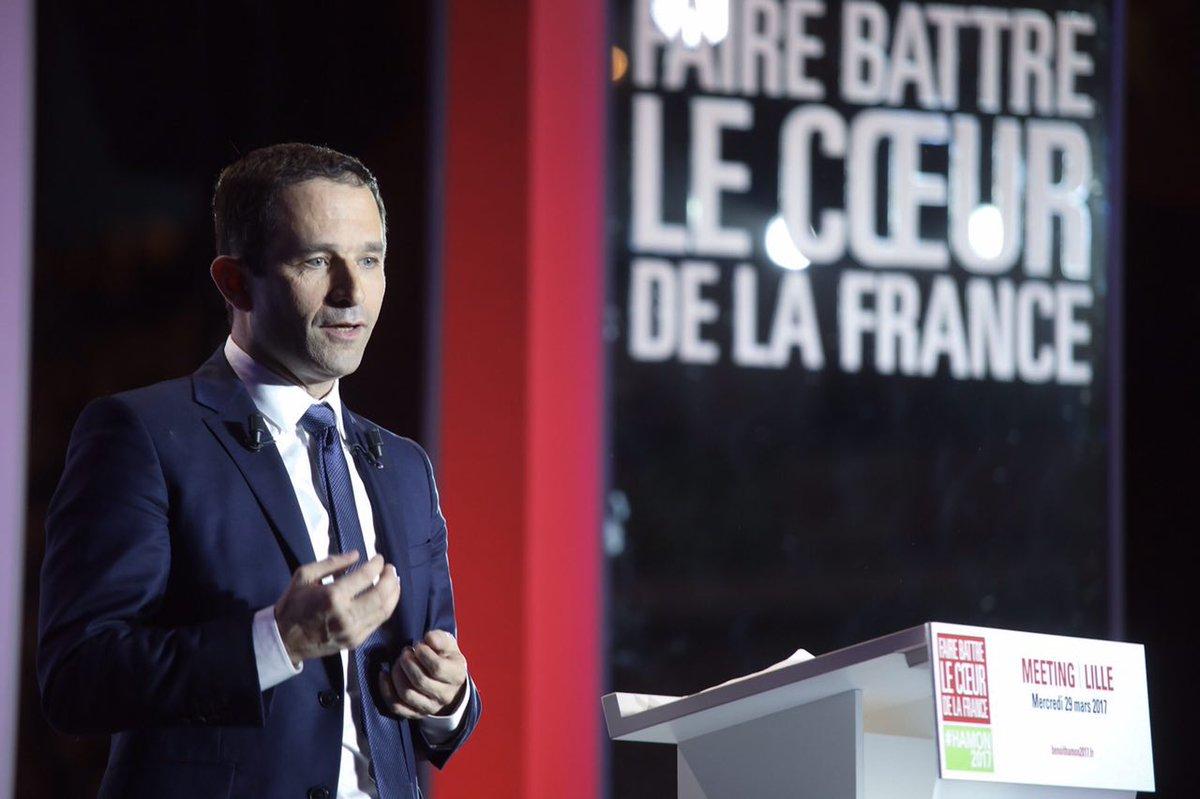 A Lille @benoithamon :&quot; l&#39;austérité est un dogme et échappe à la raison. L&#39;#europe échappe à la raison&quot;  #HamonLille #Hamon2017 <br>http://pic.twitter.com/rKrxk6NIyF