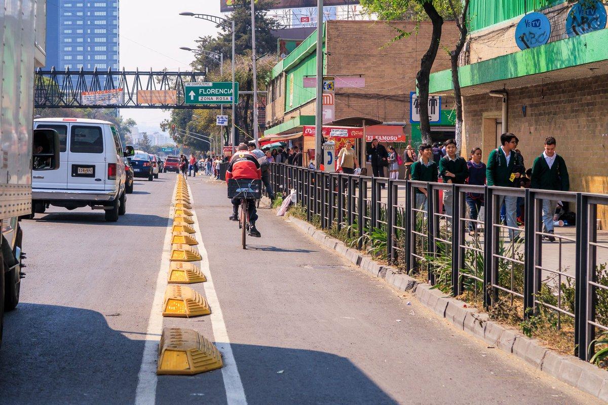 Resultado de imagen para carril de bicicletas cdmx