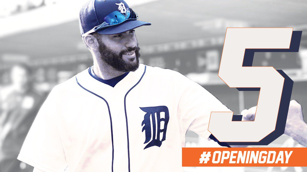 Just 5️⃣ days until #OpeningDay! https://t.co/Yl8OhlMamN