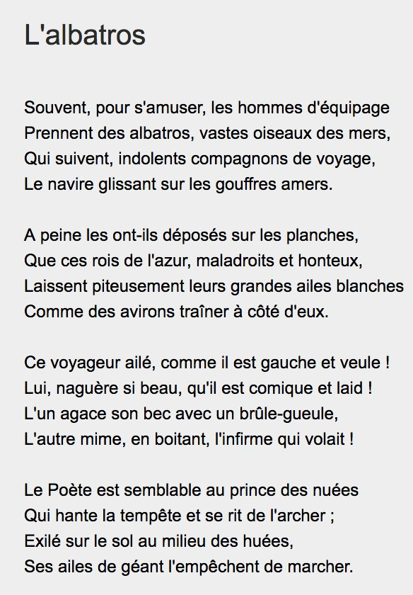 Emma On Twitter Non Non Cest Bien Un Poème De Baudelaire