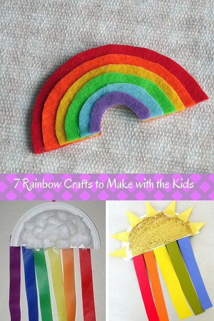 7 Rainbow Crafts to Make with the Kids