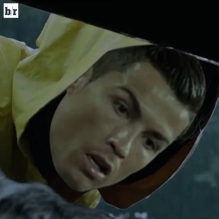 Cristiano Ronaldo will have nightmares about his statue. #ITMovie