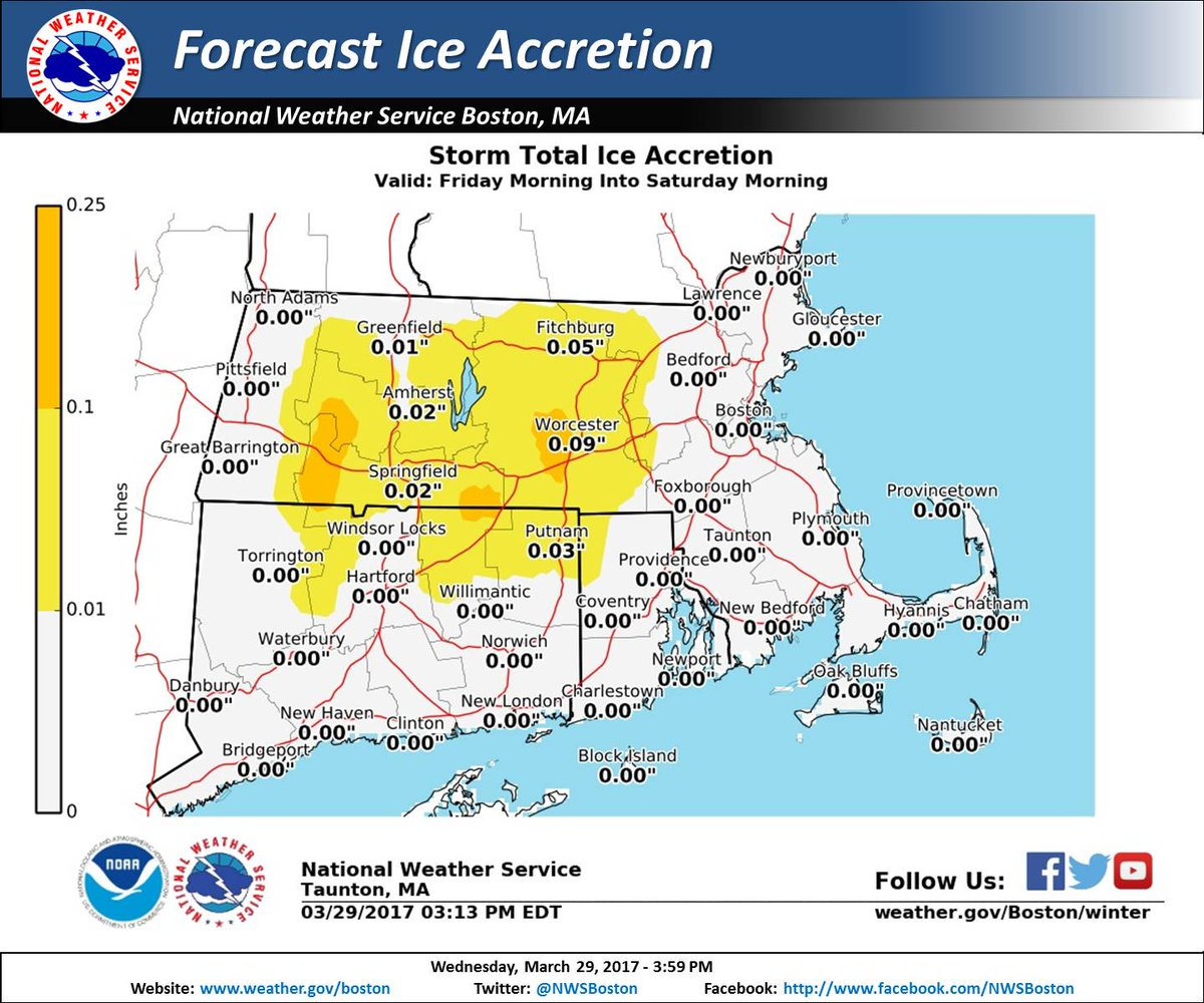NWS Boston On Twitter Winter Storm Watch Issued Friday Am Into - Nws us weather map