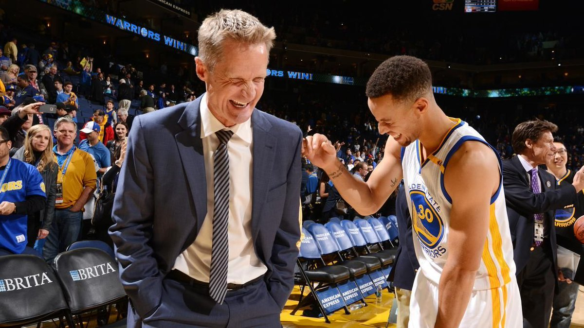 """It's easy to say that it's easy…""   A 'lucky' Steve Kerr makes NBA hi..."
