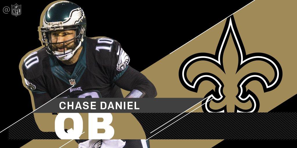 .@Saints sign QB @ChaseDaniel to a one-year deal: https://t.co/FgcA6wm...