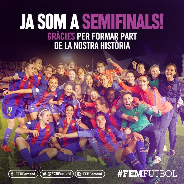 🔵🔴 We did it! / He hem fet! / Lo hemos hecho! #FCBFemeni https://t.co/...
