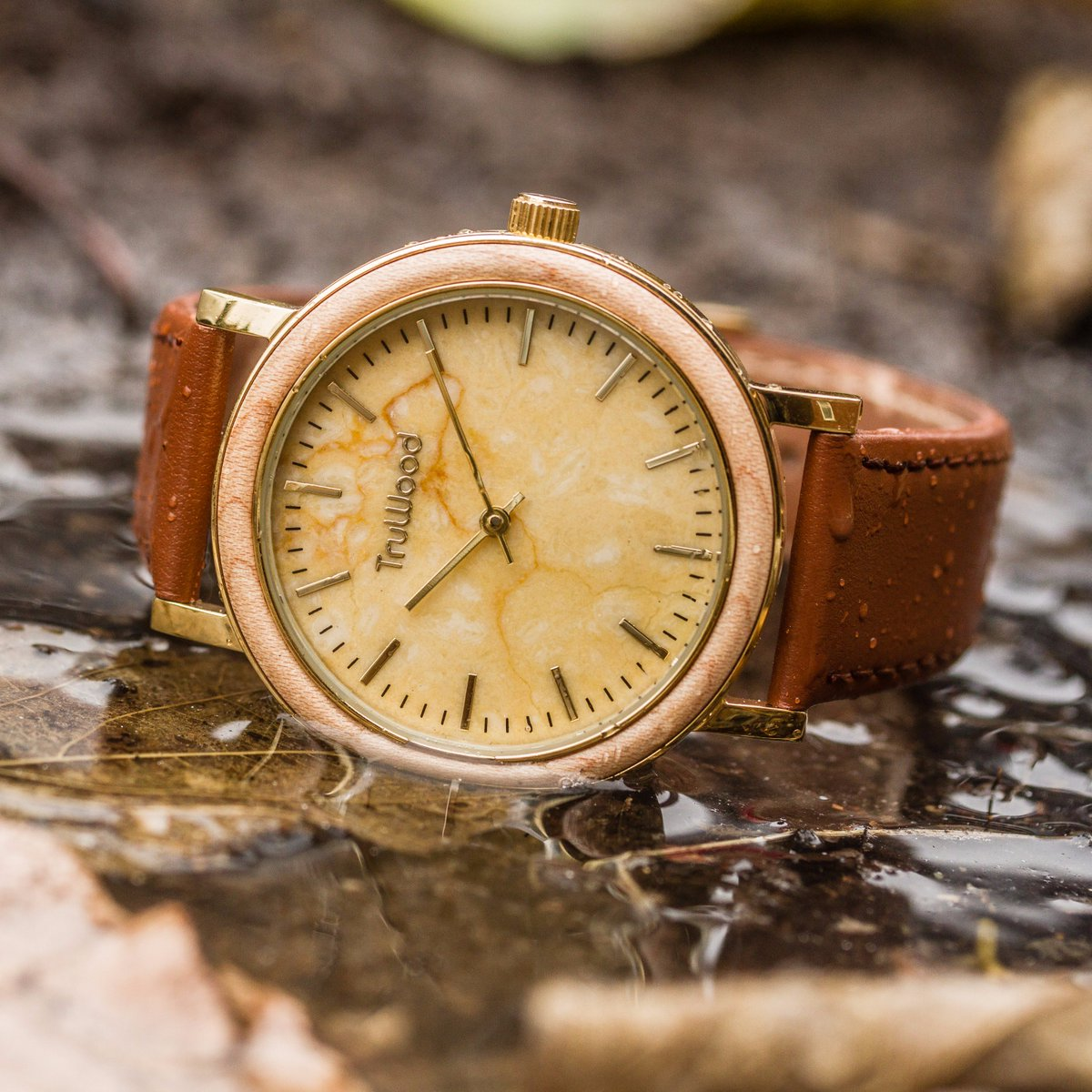 leaf is watches the pin by fashion today available wooden accessories truwood green online