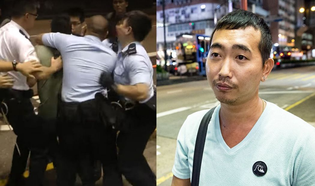 Hongkonger sues police chief, alleging abuse of power over Occupy clash