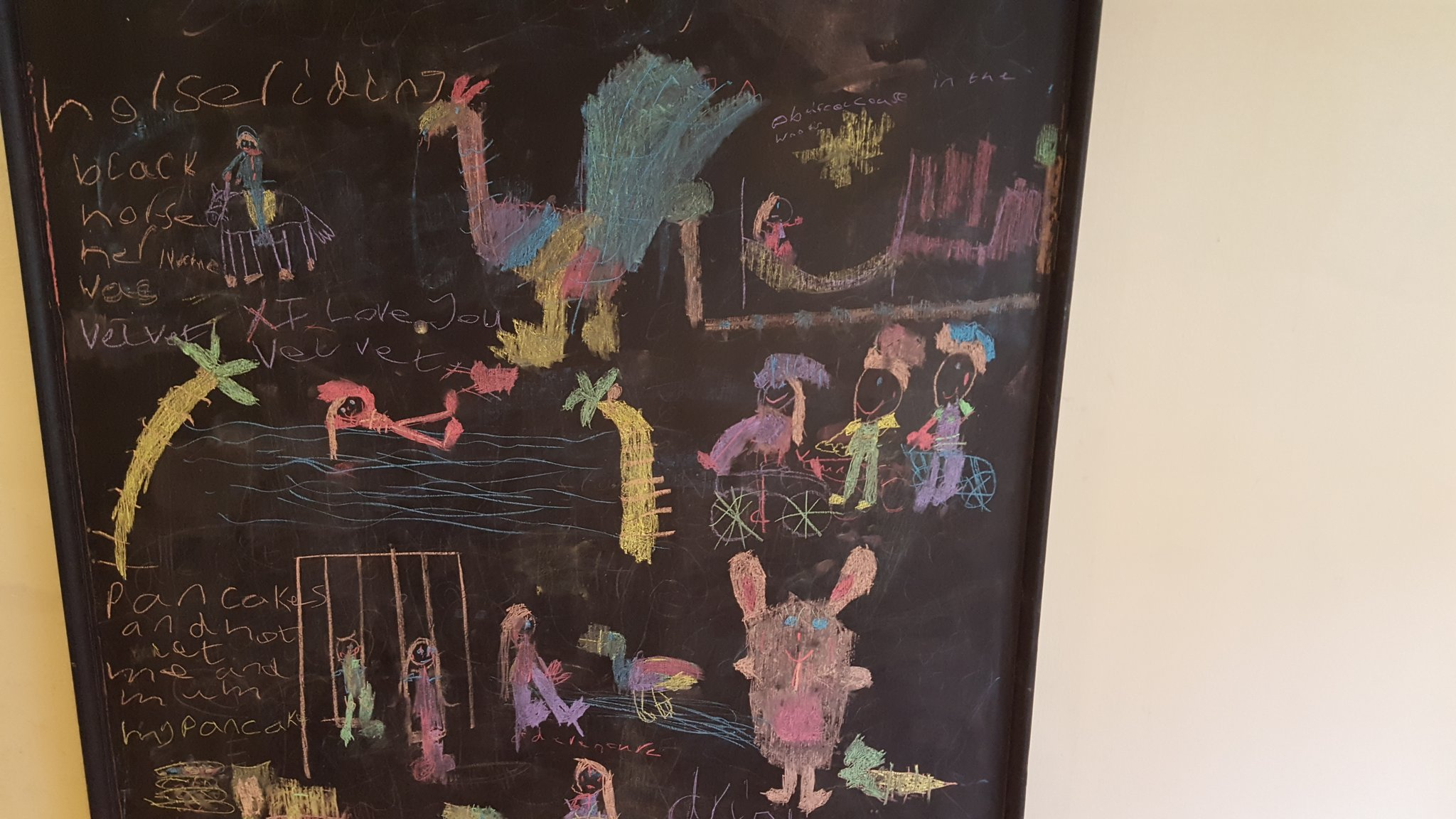 #justimagine @CenterParcsUK My fun filled weekend at Whinfell Forest by Niamh age 6 https://t.co/iatoze4fhE