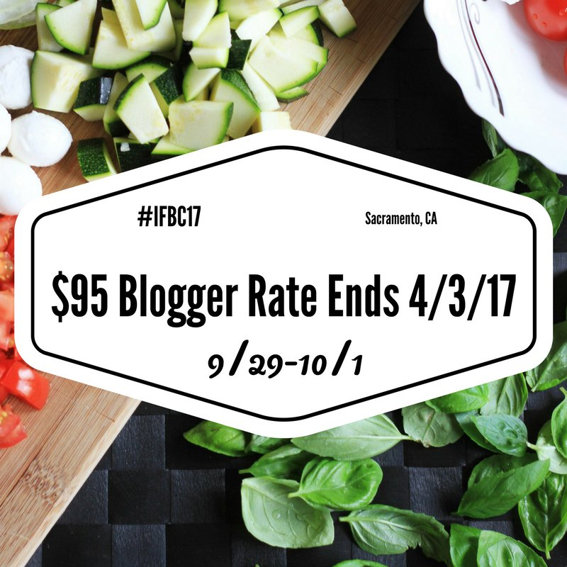 Only 6 months to #IFBC17 - early bird pricing ends Monday!! Register today.  http:// bit.ly/2ids1RO  &nbsp;   #foodblogger #fdbloggers #foodblogging <br>http://pic.twitter.com/xYjew3apZr