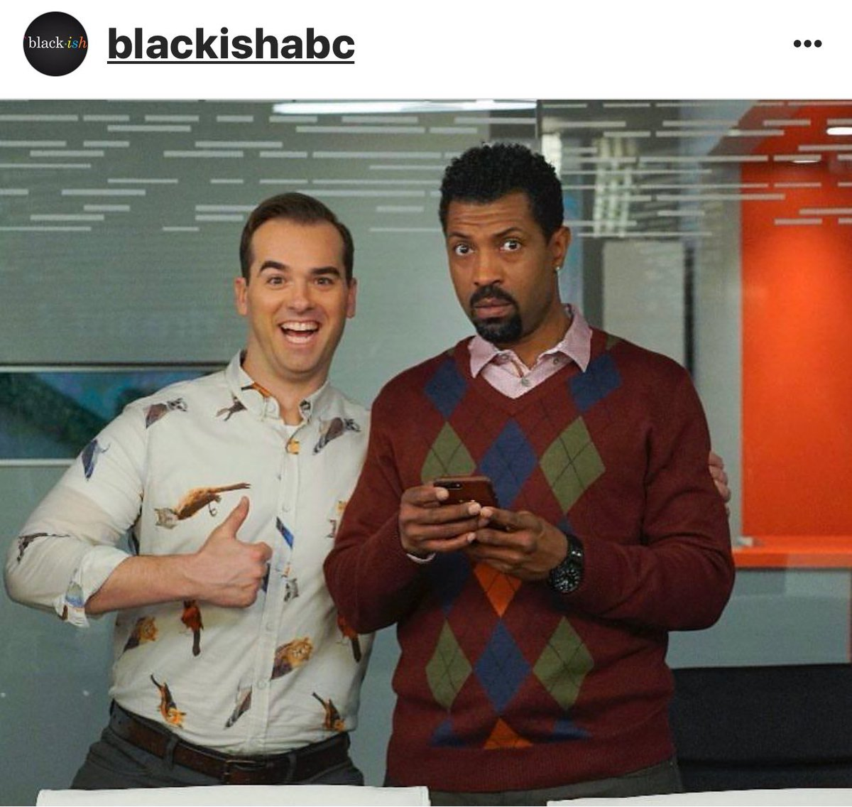 BLACKISH TONIGHT ON ABC, YOU MIGHT NOT WANT TO MISS THIS ONE!!!  #deon...