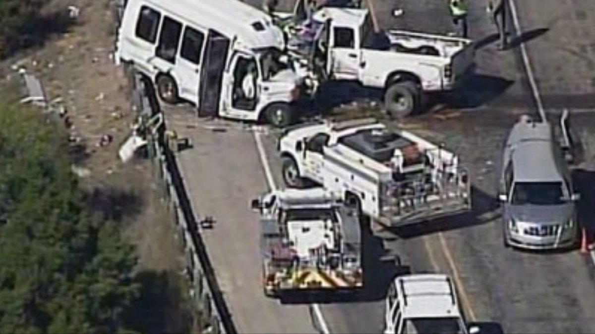 Church bus crashes near Texas' Garner State Park; multiple fatalities...