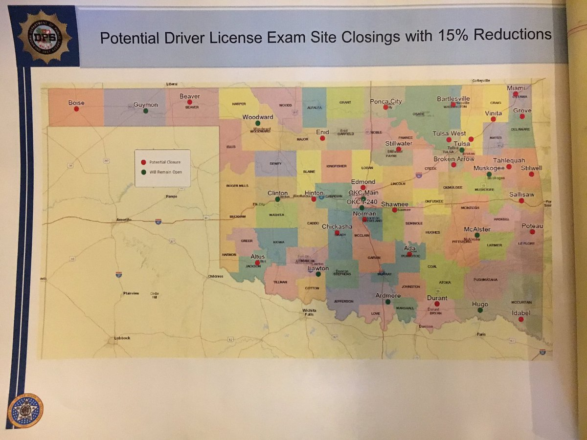 Drivers license testing muskogee oklahoma
