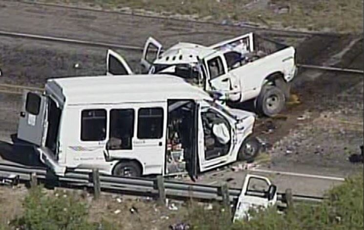 BREAKING: Church bus crashes near Texas' Garner State Park in Concan;...