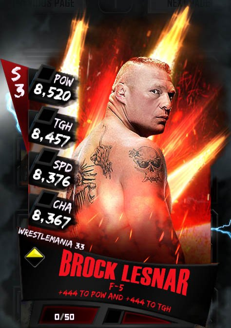 Brock Lesnar (RD 26)