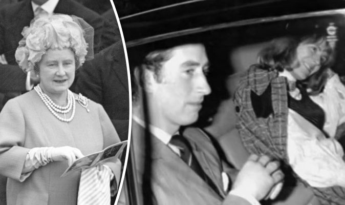 Royal House of Windsor: Queen Mother's role in Prince Charles and Cami...