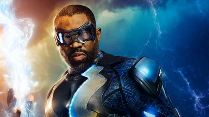 Here's the first look at @TheCW's new superhero series #BlackLightning...