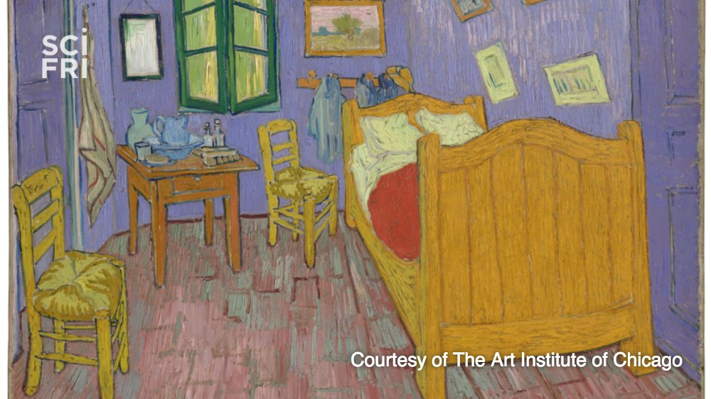 Happy birthday, Vincent Van Gogh! Chemistry reveals his true colors. h...