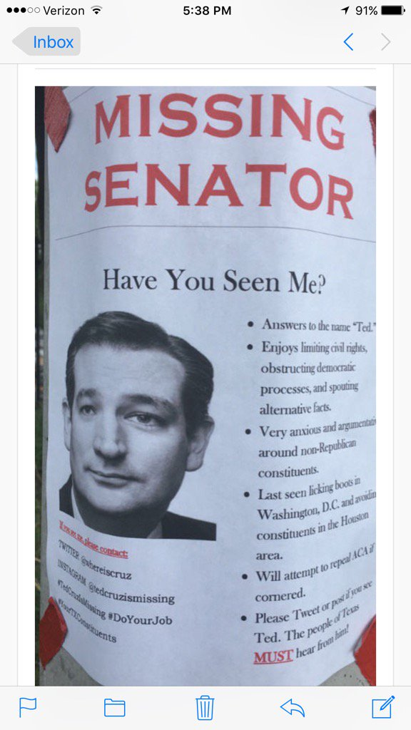 Have you seen me? #Cruz <br>http://pic.twitter.com/mmDR1byG0s