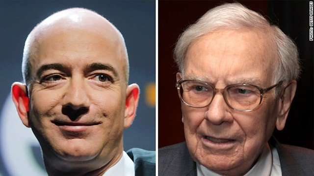 Move over Warren Buffett! Amazon CEO Jeff Bezos is now the second richest person on Earth. https://t.co/yAog5A1gTE