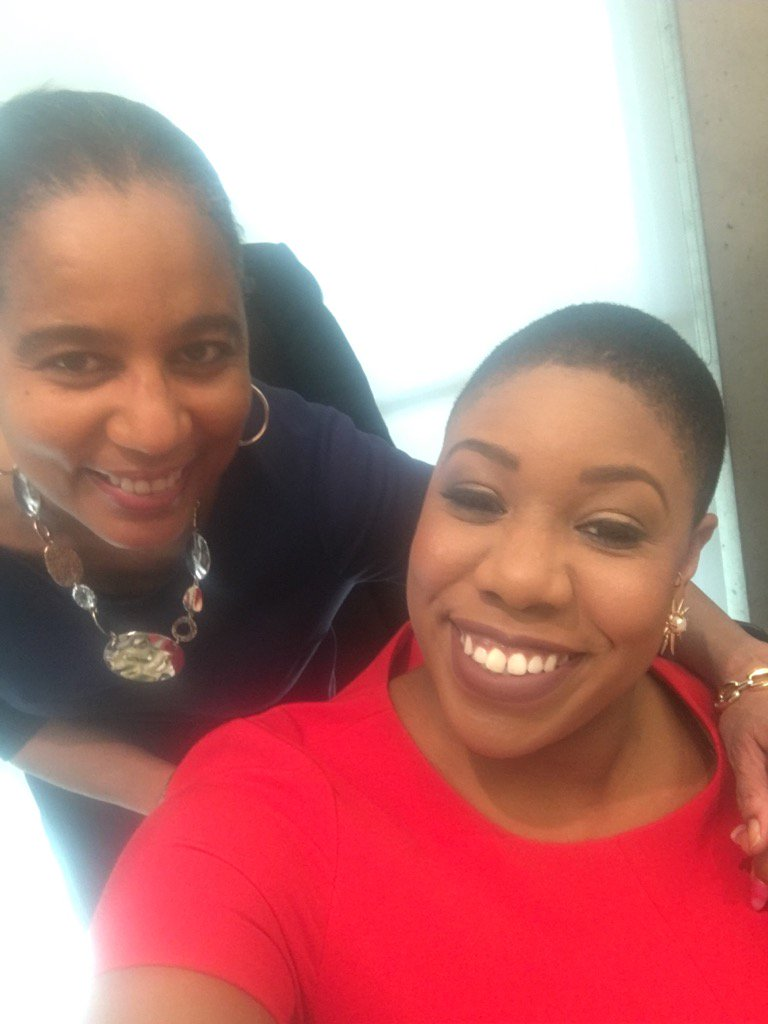 Ready w/A. Shuanise Washington for the 8th Annual Avoice Heritage Cele...