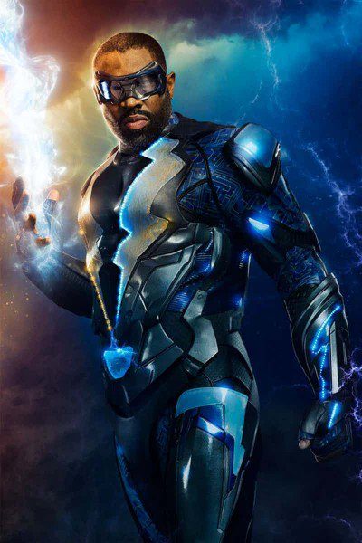 #BlackLightning suits up in the first image from the CW's upcoming sup...