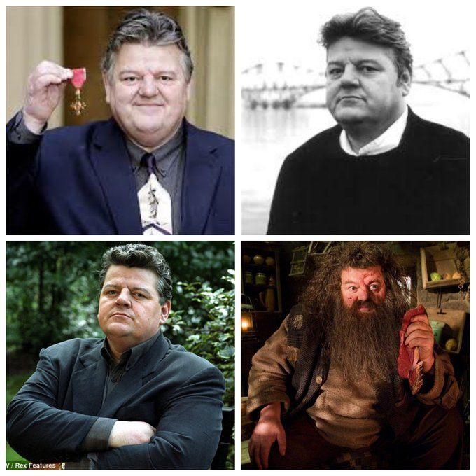 Robbie Coltrane is 67 today, Happy Birthday Robbie!
