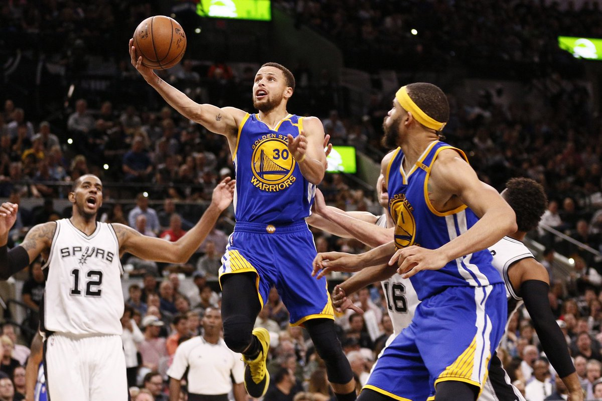 Down 22, the Warriors come back and beat the Spurs, 110-98 https://t.c...