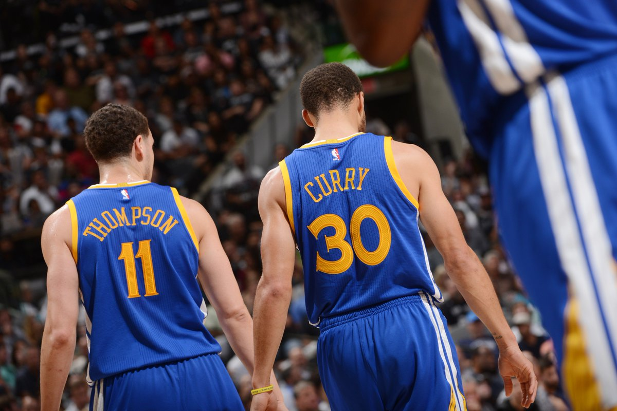 The @warriors have the most roads wins (91) over a 3 year span in @NBA...